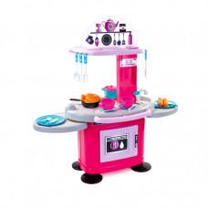 MOCHTOYS Dětská kuchyňka s 26 doplňky 10146 - růžová Preview