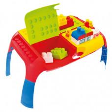 Set barevných kostek s přenosným stolem MOCHTOYS 11019 Preview
