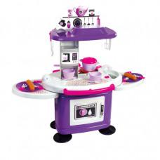 MOCHTOYS Dětská kuchyňka s 26 doplňky 11051 - fialová Preview