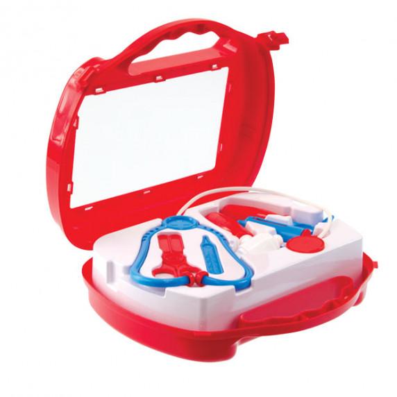 Lékařský set v kufříku MOCHTOYS Doctor - červený