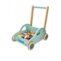 Dětské edukační chodítko Lelin - autíčko