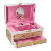 Hrací šperkovnice se zásuvkou Goki 15348 - balerína