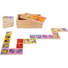 Domino v dřevěné krabice SMALL FOOT - farma Preview