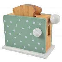 Dětský dřevěný topinkovač Magni - zelený