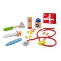 Lékařský dřevěný set v kufříku Viga