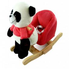 Houpací hračka panda Nefere - červená Preview