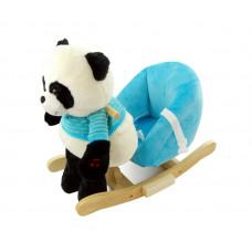 Houpací hračka panda Nefere - modrá Preview