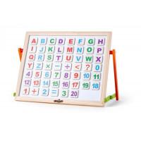 Magnetická tabule s písmenky Woodyland
