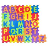 Pěnová podložka puzzle Abeceda 52 dílů Plastica