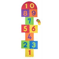 Pěnová podložka puzzle Škola skoku Plastica