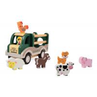 Dřevěné vozidlo na přepravu hospodářských zvířat magna Farm Car