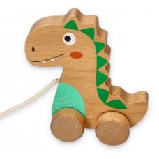 Dřevěný tahací dinosaurus LELIN Preview
