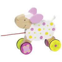 Dřevěná tahací ovečka Suzie  GOKI