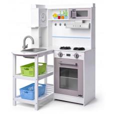 Dětská kuchyňka s plastovými košíky Woodyland CORNER PLAY KITCHEN Preview