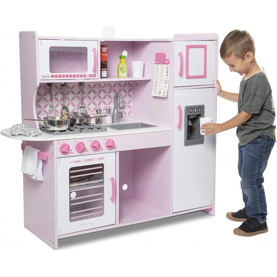 Dětská dřevěná kuchyňka MELISSA & DOUG Chef 's Kitchen Cupcake