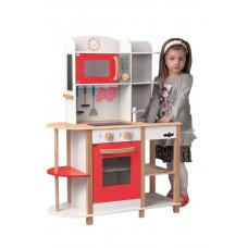 Dětská dřevěná kuchyňka Woodyland WENDY Big Red Kitchen Preview