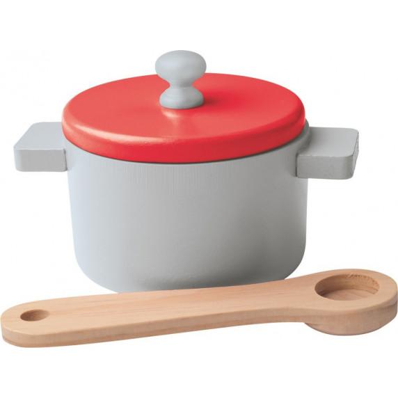 Dětská dřevěná kuchyňka Woodyland WENDY Big Red Kitchen