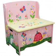 Dětská lavice s úložným prostorem FANTASY FIELDS Magic Garden Preview