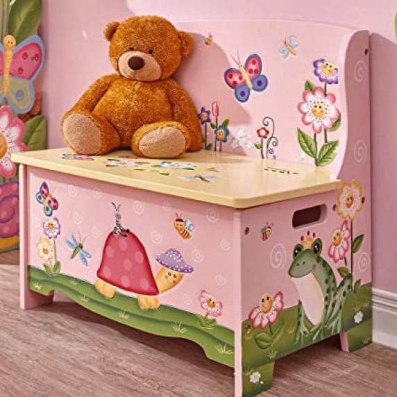Dětská lavice s úložným prostorem FANTASY FIELDS Magic Garden
