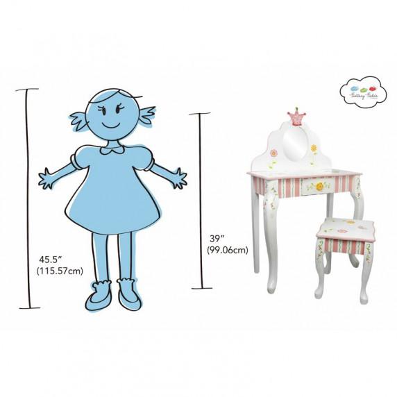Dětský toaletní stolík FANTASY FIELDS Princess & Frog