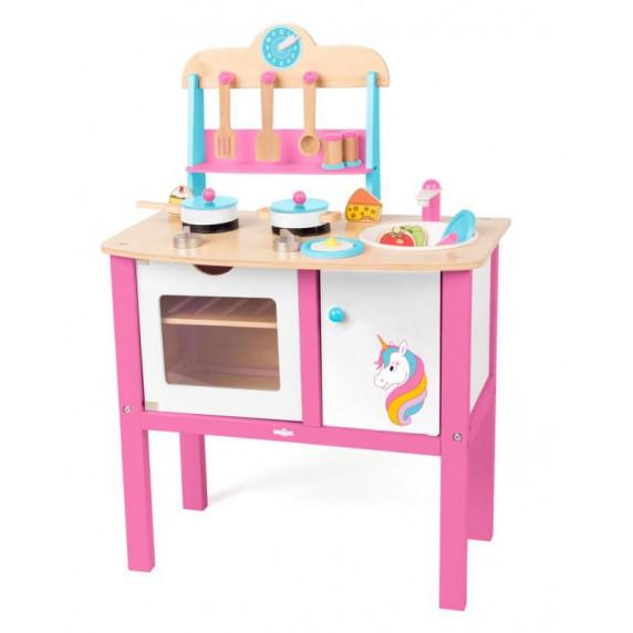 Dětská kuchyňka Woodyland KITCHEN UNICORN