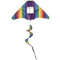 Létající drak IMEX Tail Twister Kite - duha