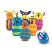 Set na dětský monster bowling MELISSA&DOUG Monster Bowling