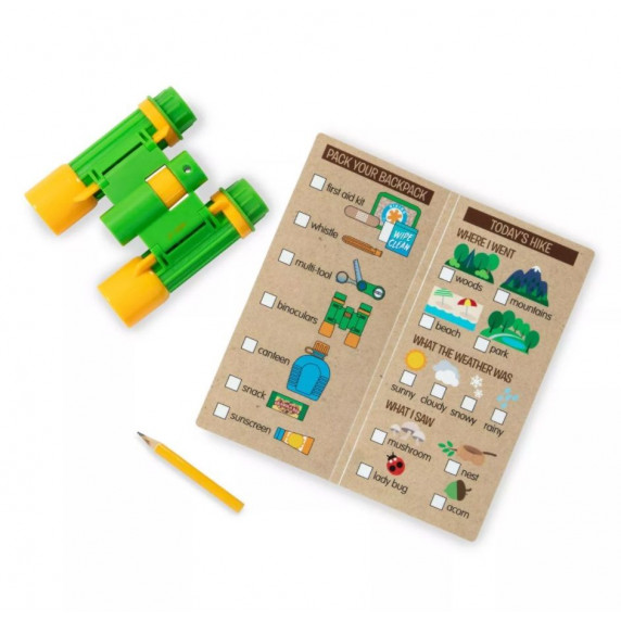 Dětský turistický batoh s příslušenstvím Melissa & Doug Hiking Play Set