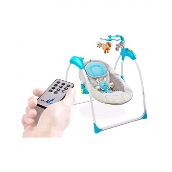 Dětská houpačka CARETERO Loop elektronická  bežová
