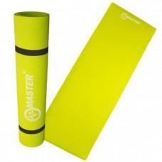 Podložka na cvičení  MASTER Yoga EVA 4 mm - 173 x 60 cm - neonově zelená Preview