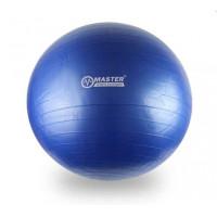 Gymnastický míč 85 cm MASTER Super Ball - modrý