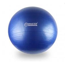 Gymnastický míč 85 cm MASTER Super Ball - modrý Preview