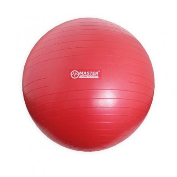 Gymnastický míč 75 cm MASTER Super Ball - červený