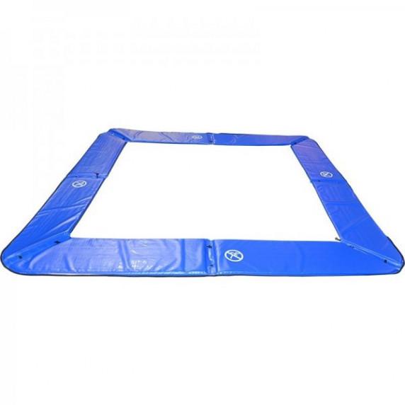 Kryt pružin MASTERJUMP na trampolínu 300x210 cm - modrý