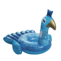 Nafukovací lehátko BESTWAY Pretty Peacock - modrý páv