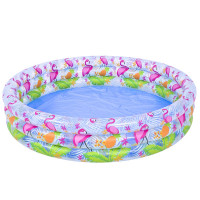 Nafukovací bazén JILONG Flamingo 120 x 25 cm