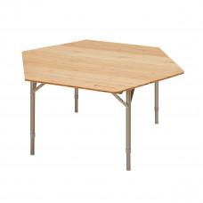 Kempingový skladací stůl KING CAMP Bamboo Color 100x100x60cm Preview