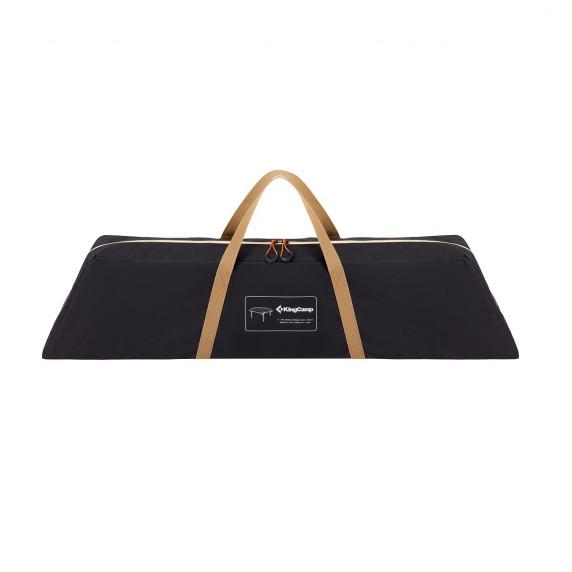 Kempingový skladací stůl KING CAMP Bamboo Color 100x100x60cm