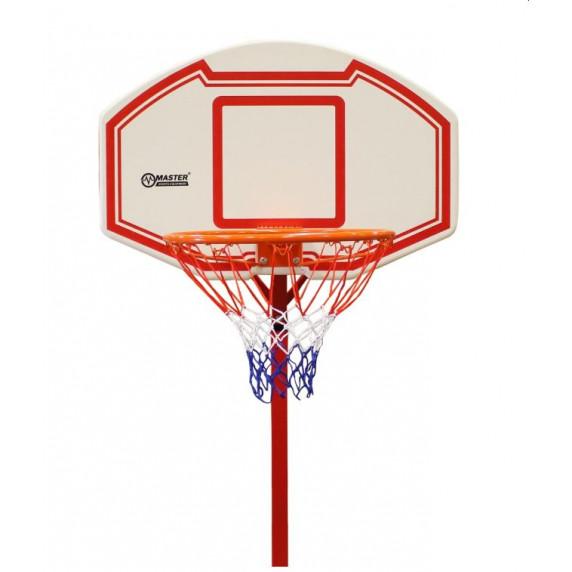 Basketbalový koš s deskou 170 x 90 x 255 cm MASTER Attack 260