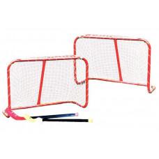 Brankový set MASTER 81 x 54 x 31 cm s hokejkami Preview