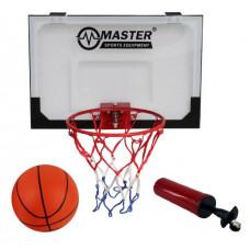 Baketbalový koš s deskou MASTER 45 x 30 cm Preview