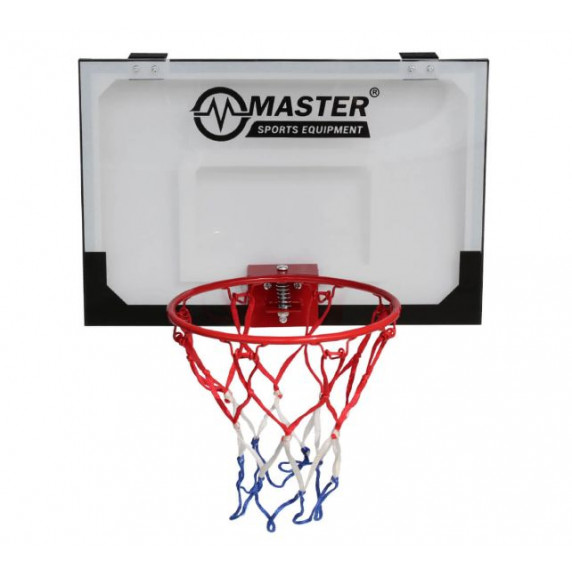 Baketbalový koš s deskou MASTER 45 x 30 cm
