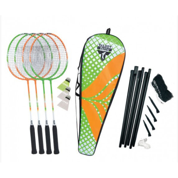 Badmintonový set TALBOT TORRO 4 Attacker Plus