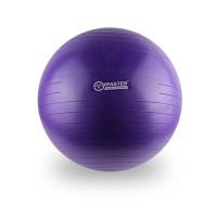 Gymnastický míč 55 cm MASTER Super Ball - fialový