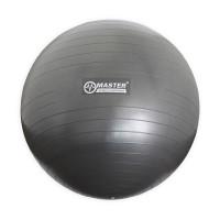 Gymnastický míč 65 cm MASTER Super Ball - šedý