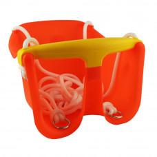 Houpačka plastová baby CHEVA Baby plast - oranžová Preview