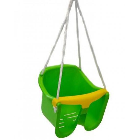 Houpačka plastová baby - zelená