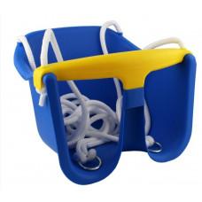 Houpačka plastová baby CHEVA Baby plast - modrá Preview