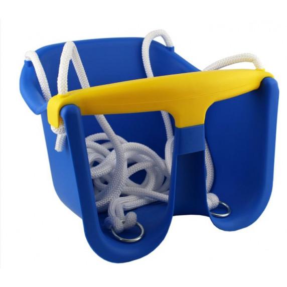 Houpačka plastová baby CHEVA Baby plast - modrá