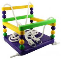 Dětská houpačka MASTER ohrádková plastová - fialová